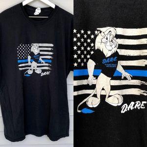 D.A.R.E T-shirt size XXL